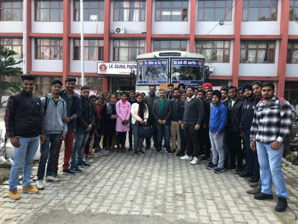 One day Industrial Visit to GNA GEARS PVT LTD., PHAGWARA