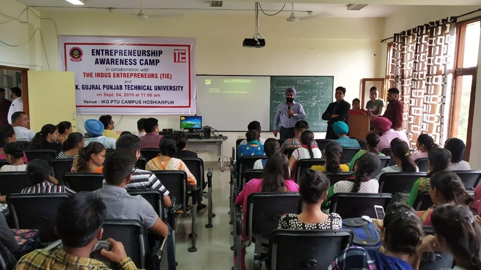 Entrepreneur Awareness Camp in collaboration with TIE and IKGPTU
