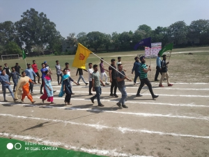 6th Annual Sports Meet was held on 5 April 2019