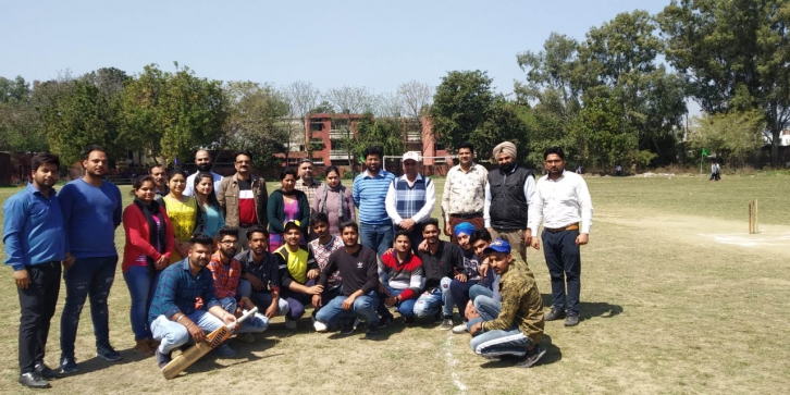 Cricket Tournament Organised on 19 March,20 March 2019